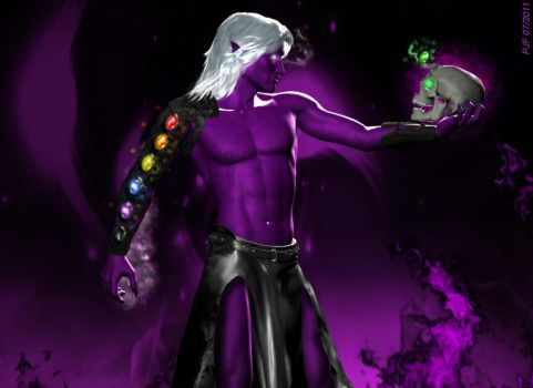 Magus and The Infinity Manica by TheGeminiDream