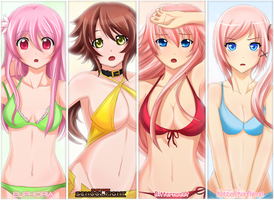 Beach Bodies by Suihara