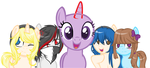 OPEN COLLAB: Here comes the gang's~ by Y-umii