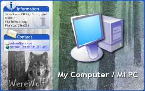Windows XP 'My Computer' by werewolfdev