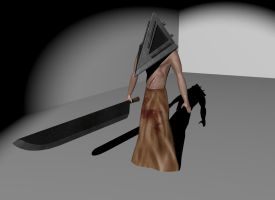 Pyramid Head by Alioli1