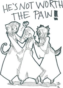 -He's not worth the pain- by ShikaXsaysXRAWR