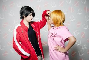 Kagerou project : My cola! My red bean soup! by azukajung