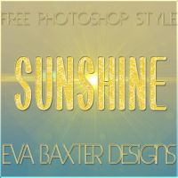 EVA BAXTER DESIGN - SUNSHINE STYLE by EvaTakesNoPrisoners