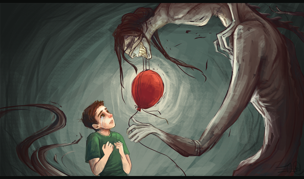 Red Balloon by PosyPrince