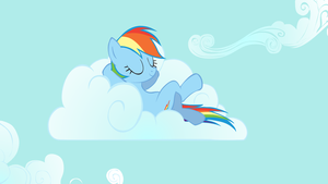 Rainbow Dash on Cloud Nine by ShelltoonTV