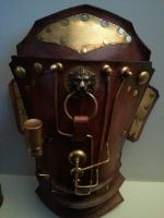 Steampunk Pauldron for Arm by Skinz-N-Hydez