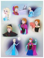 Frozen - random stuff by Loony-Lucy