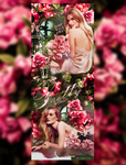 Rosie Huntington-Whitely by Lea-Lang
