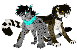Cheetahpard Brothers by Firewolf-Anime