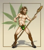 Reefer Madness Satyr by AdmYrrek