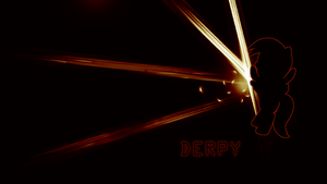 Simple Derpy Wallpaper by Chief117x