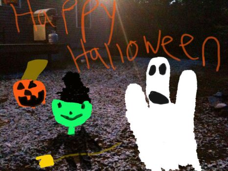Halloween Greeting by mactrack810