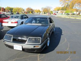 1986 ford mustang by catsvsfox