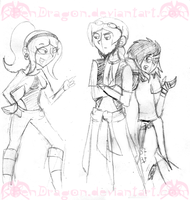 EAH: OC Sketches 01 by KPenDragon