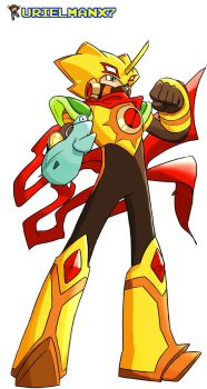 MegaMan Day 2012 SolCross mode by UrielManX7
