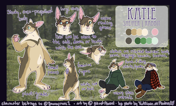 Comm/gift - Katie ref by ghostflannel