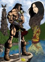 Conan: The Funeral Pyre by RubusTheBarbarian