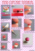 Fimo Cupcake Tutorial. by x-Butterflied-x