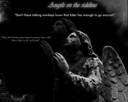 Angels on the sideline by Now-Entering-Cyberia