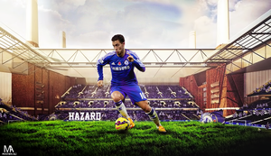 Eden Hazard  wallpaper by mostafarock