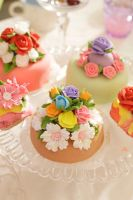Tea Party. Cakes 2 by ALILAR