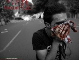 Blood in Iran by sahandam