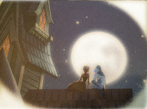 Up on the Roof by noodlekuki
