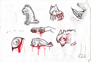 Bloody scetches by Astarcis