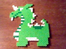 Aquamentus Perler by Perler-Pop