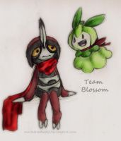 Team Blossom :request: by MortaleRedWolf