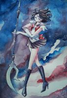 Sailor Saturn by Anchefanamon