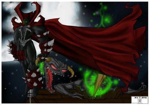 Spawn Victorious by Flo-Jitz