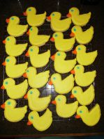 Ducky Cookies by Nimhel
