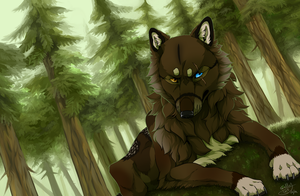 I wish for solitude + SPEEDPAINT by Sally-Ce