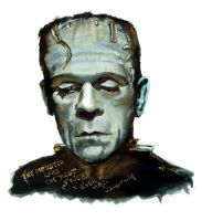 Frankenstein's monster by LizDouceFolie