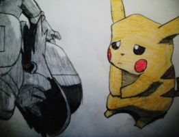 Sad Pikachu by FearsomeX23