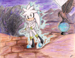 End Of The World -Silver -White Emerald by MeetJohnDoe