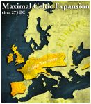 Civilization 5 Map: The Celts by sukritact