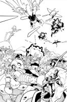 Invincible issue 14 page 1 by RyanOttley