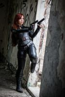 Black Widow Cosplay by Windelle