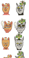 Burgerpants King Julien by KingJulienFangal