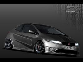 Honda Civic 2 by adam4186