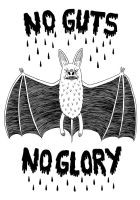 No Guts No Glory tshirt design by Teagle
