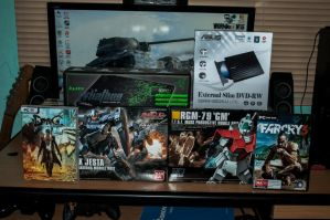 My Hauls for this Month by archaznable30