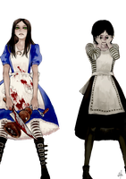 Alice madness returns Render by blackshiki