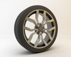 Audi R8 V10 Wheel by usere35