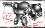 Baymax - WIP by Unreal-Forever