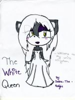 The White Queen by Sasha-the-Hedgie