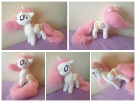 CEWESTIA! Filly Princess Celestia by laurilolly-crafts